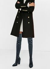ZARA OVER THE KNEE VELVET BOOT
