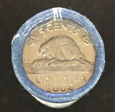 2004  Roll of 5 cents bu original mint wrapped