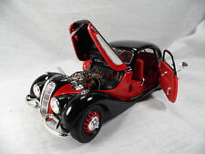 y530, Guiloy BMW 327 Coupe 1937 Rot / Schwarz 1:18