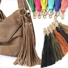 WOMEN'S HANDBAG ACCESSORIES POCKY PLAYFUL TASSEL CHARM GENUINE COWHIDE LEATHER