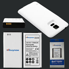 NEW HOT!! 7500mAh Extended Battery +Cover f. Samsung Galaxy S5 SM-G900/GT-i9600