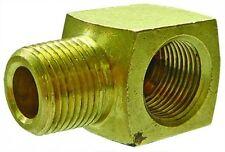 """B2-00484 - 1/4"""" NPT Male x Female Thread - Equal Elbow - Brass"""