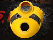Yellow Center Console For A 2002 Mxz 600 Part Number 517302684