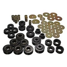 Energy Suspension 3.4138G Body Mount Set Black Polyurethane