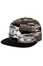 Altamont The Paint By Camo Snapback Hat in Black and Camo NWT