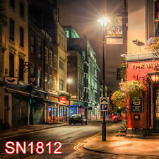 Outdoor Street 10x10  FT CP SCENIC PHOTO BACKGROUND BACKDROP SN1812