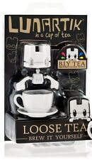 "LUNARTIK - Loose Tea DIY or BIY - cup of tea vinyl mini figure 2.5"" white"