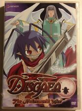 DISGAEA - Vol. 3: The Netherworld War - MINT NEW DVD! Free First Class In U.S.