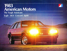 1983 AMC Eagle concorde spirit SX4 28-page Car Sales Brochure Catalog