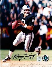 "MARCUS TUIASOSOPO b ""RAIDER""  AUTOGRAPHED 8 X 10 COLOR PHOTO COA NSD AND OLD PRO"