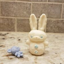 Littlest Pet Shop White Snow Bunny Rabbit Snowman LPS Toy Blue Bear Mouse Access
