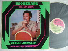 SEGUN ADEWALE SUPER STARS INTERNATIONAL BOOMERANG AFRO JUJU
