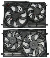 New Dual Radiator & Condenser Fan FOR 2015 2016 Ford Transit 150 250 350 HD