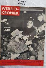WERELD KRONIEK 1960 JANUARY,FIDEL CASTRO CUBA COVER