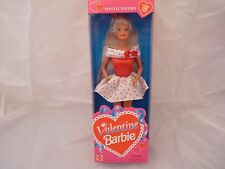 1995 Special Edition Valentine Barbie Doll W/Card for You  - MIB - NRFB PERFECT