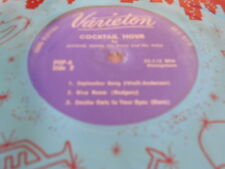 "7"" coktail Hour by michael dunn,EP, the last time i saw paris **"