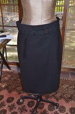 Gunex by Brunello Cucinelli black skirt sz 50