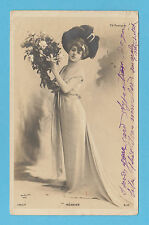 ACTRESS  -  REUTLINGER  POSTCARD  -  ACTRESS  -  REGNIER  -  1904