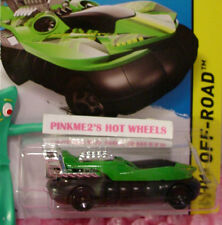 Case H 2015 Hot Wheels New HOVER STORM #103∞Green/Black∞Jungle Rally∞Off-Road
