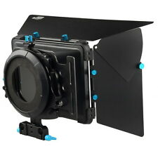 FOTGA M2 Pro Matte Box for 15mm Rod Camera DSLR Rig +4 Donuts Ring +Filter Trays