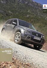 Prospekt 2007 Suzuki Grand Vitara 5 Türer 1 07 brochure Auto Pkw Japan Autoprosp