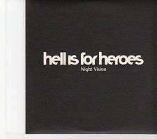(EW826) Hell Is For Heroes, Night Vision - 2002 DJ CD