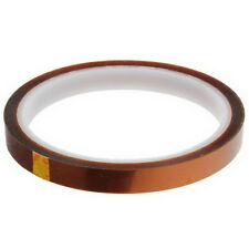 10mm 100ft BGA High Temperature Heat Resistant Polyimide Gold Kapton Tape G