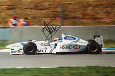 Jan Magnussen SIGNED 12x8, F1 Stewart-Ford SF01  , Spanish GP Barcelona 1997