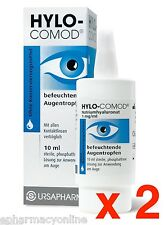 HYLO-COMOD® EYE DROPS 2 x 10 ml The classic among the therapies for dry eyes