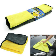 Large Size Super Thick Plush Microfiber Home Car Wash Cleaning Cloths Towels