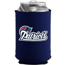 2 NEW ENGLAND PATRIOTS BEER SODA WATER CAN KADDY KOOZIE HOLDER NFL FOOTBALL