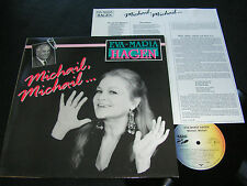 EVA-MARIA HAGEN Michail, Michail.../ German LP 1989 EXTRA RECORDS 5723041 2 AL