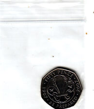 Boy Scout Badge CENTENARY SCOUTING 50 pence coin