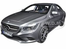 2013 MERCEDES CLA 220 MOUNTAIN GREY METALLIC 1/18 DIECAST CAR MODEL NOREV 183597