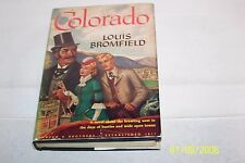 Colorado by Louis Bromfield Hardcover W/jacket Signed USA 1947 First Edition