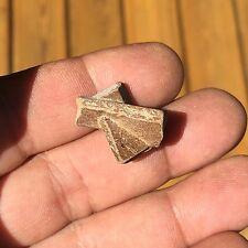 Staurolite brute Croix de St-André Staurotide  7 g ~11246 Madagascar Staurolite