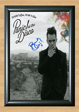 PANIC! AT THE DISCO Too Weird Too Live Signed Autographed A4 Photo Print Poster