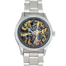 DOCTOR WHO TARDIS PAINTING VAN GOGH GLT33 SPORT STAINLESS WATCH