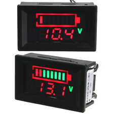 12V Acid Lead Batteries LED Indicator Batería Capacity Digital Tester Voltímetro