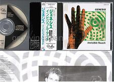 GENESIS Invisible Touch JAPAN CD 32VD-1023 OBI 86 1st issue BLACK TRIANGLE LABEL