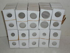 1000 Cowens Cardboard Mylar Staple Type 2x2 Coin Holder Flips -7 Different Sizes