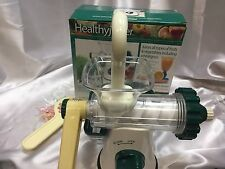 Healthy Juicer Juices All Types of Fruits & Vegetables + Wheatgrass Countertop