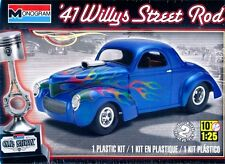 Revell Monogram Car Show 1941 Willys Street Rod Plastic Model Kit 1/25