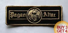PAGAN ALTAR GD PATCH BUY3 GET4,JEX THOTH,BLOOD CEREMONY,COUNT RAVEN,CIRITH UNGOL
