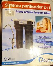 AQUATAL DRINKING WATER PURIFICATION SYSTEMS 3 STAGE AT-3318 OPEN BOX