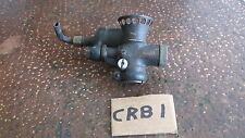 Vintage motorcycle brass pre war carb sports course?