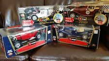 FOUR x Bburago 1:18 Cars MERCEDES-Benz JAGUAR New in Box LOT of 4