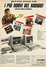 X2708 Computer AMSTRAD - Pubblicità 1991 - Advertising