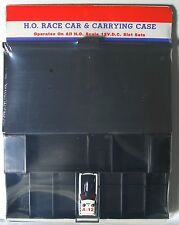 1972 Aurora AFX G+ G-PLUS HO 7 Slot Car BLACK PIT KIT Carded +Free Screecher MOC