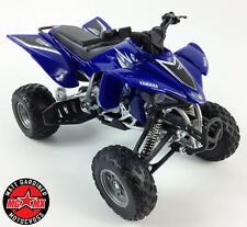 Yamaha YFZ 450 1:12 Die-Cast ATV QUAD Motorbike Toy Model Bike New Ray Blue